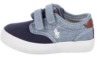 Polo Ralph Lauren Toddler Boys' Canvas Sneakers