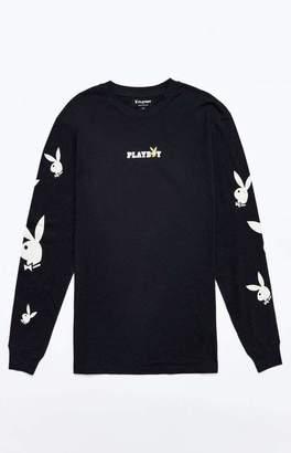 06d5785e PacSun x Playboy Scattered Logo Long Sleeve T-Shirt