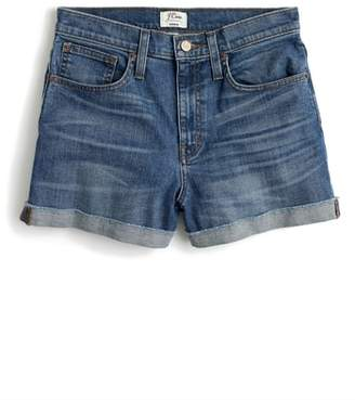 J.Crew J. CREW High Rise Denim Shorts