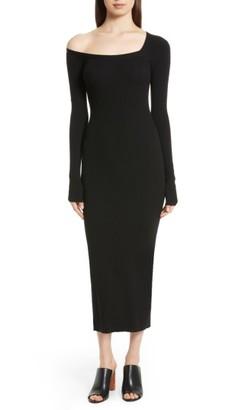 Women's A.l.c. Brynn Merino Wool Blend Midi Dress $395 thestylecure.com