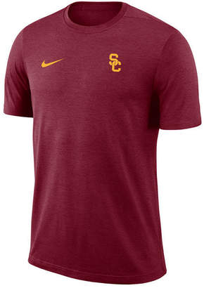 Nike Men's Usc Trojans Dri-Fit Coaches T-Shirt