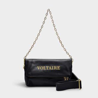 0c3f785e6 Zadig & Voltaire Rocky Voltaire Bag In Black Calfskin