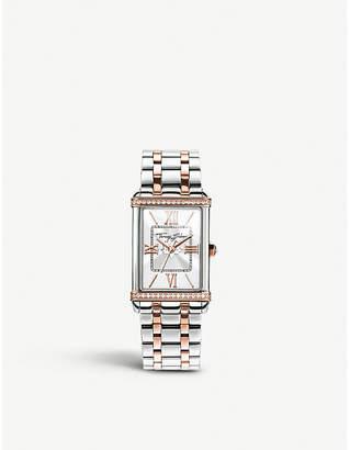 Thomas Sabo Glam and Soul two tone white zirconia watch
