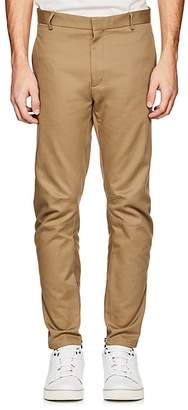 Lanvin Men's Serge Cotton Biker Trousers