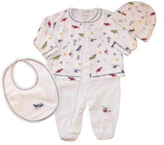 Kissy Kissy Baby Boys Aviators Take Me Home Set-0-3 Months