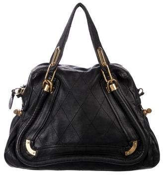 779ee43c30a Chloé Small Quilted Paraty Satchel