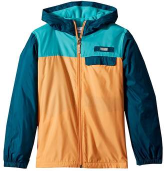 Columbia Kids Mountain Side Lined Windbreaker Girl's Coat