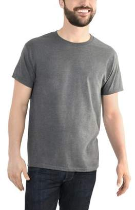 Fruit of the Loom Men's Platinum Eversoft Short Sleeve Crew T Shirt, up to Size 4XL