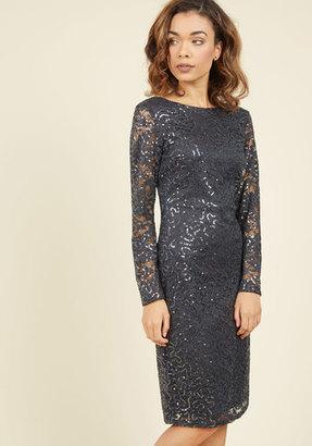 Marina With Shine Regards Lace Dress $129.99 thestylecure.com