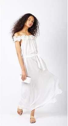 Miguelina Felicity Silk Party Dress