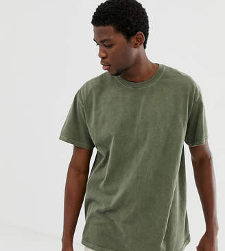 Reclaimed Vintage Inspired Oversized T-Shirt In Khaki