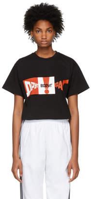 Gosha Rubchinskiy Black Graphic T-Shirt