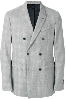 at Farfetch Calvin Klein double-breasted fitted blazer