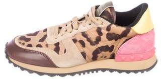 Valentino Printed Low-Top Sneakers