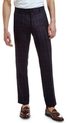 Etro Men's Wool Plaid Suit Separate Trousers