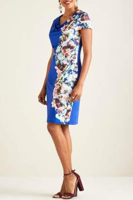 Yumi Midnight Floral Dress