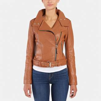 Mackage Hania Leather Biker Jacket