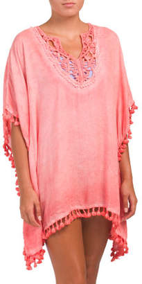 Crochet Cover-up Caftan