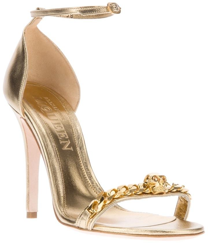 Alexander McQueen chain link sandal