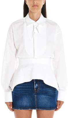 DSQUARED2 Structured Fitted Waist Shirt