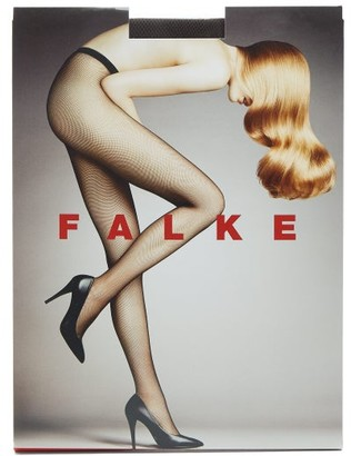 Falke Fishnet Tights - Womens - Brown