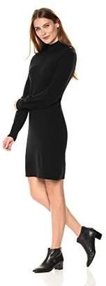 Lark & Ro Women's 100% Cashmere Soft Turtleneck Sweater Dress