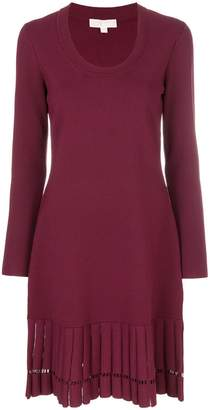 MICHAEL Michael Kors pleated-hem dress