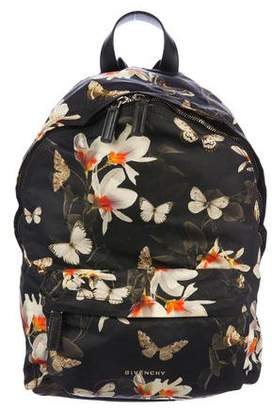 Givenchy Magnolia Moth Print Backpack