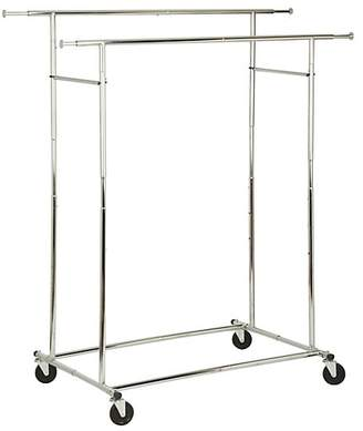 Honey-Can-Do Dual Collapsible Steel Garment Rack