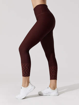 Beyond Yoga DESERT BORDER HIGH WAISTED MIDI LEGGING