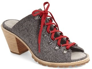 Women's Woolrich 'Rockies' Mule Sandal $179.95 thestylecure.com