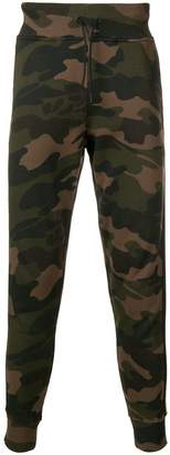 Hydrogen camouflage track pants