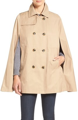 Women's Cece Lily Trench Cape $148 thestylecure.com