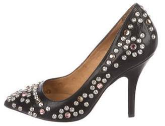 Isabel Marant Studded Pointed-Toe Pumps