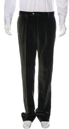 Paul Smith Flat Front Velvet Pants