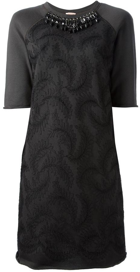 P.A.R.O.S.H. print dress