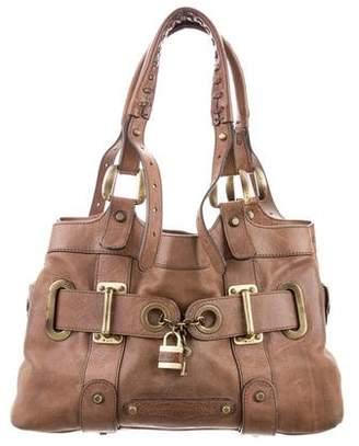 Barbara Bui Lock Charm Shoulder Bag