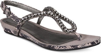 Kenneth Cole Reaction Women's Lost Star Flat Sandals $69 thestylecure.com