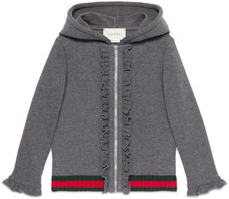 Children's cotton hooded sweatshirt $320 thestylecure.com