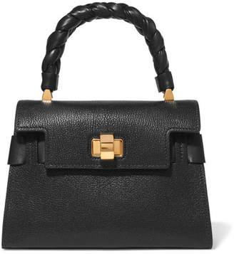 6bfb5ed1539e Miu Miu Miu Click Textured-leather Tote - Black