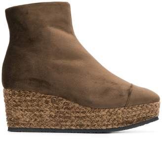 Castaner Nadia wedge boots