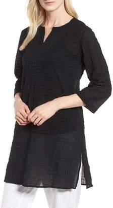 Eileen Fisher Stretch Organic Cotton Tunic
