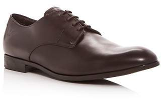 Giorgio Armani Men's Leather Plain Toe Oxfords