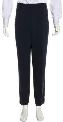 Incotex Flat Front Wool Pants