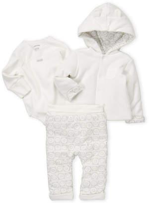 Absorba Infant Girls) 3-Piece Hoodie, Bodysuit & Sweatpant Set
