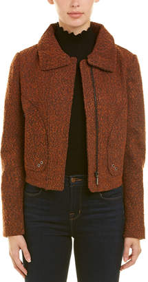 T Tahari Wool-Blend Jacket