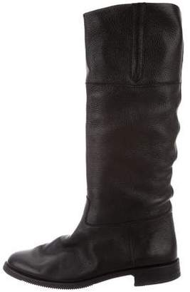 Gravati Leather Mid-Calf Boots