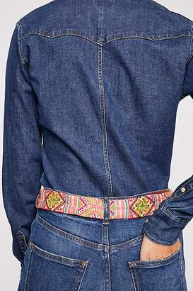 Tricia Fix Austin Embroidered Western Belt