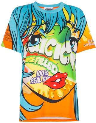 Moschino Juice box cartoon t shirt