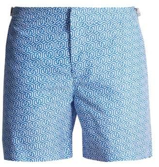 Orlebar Brown Bulldog Themis Swim Shorts - Mens - Blue